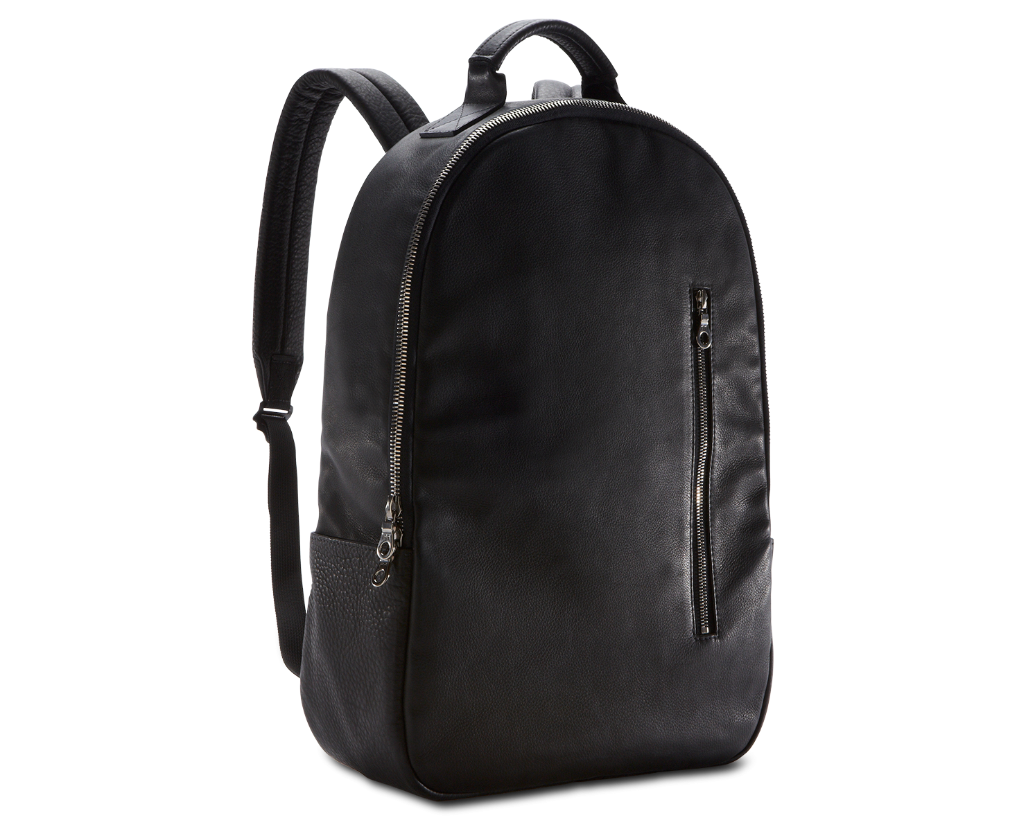 Backpack Black Leather SJ1g0Kot