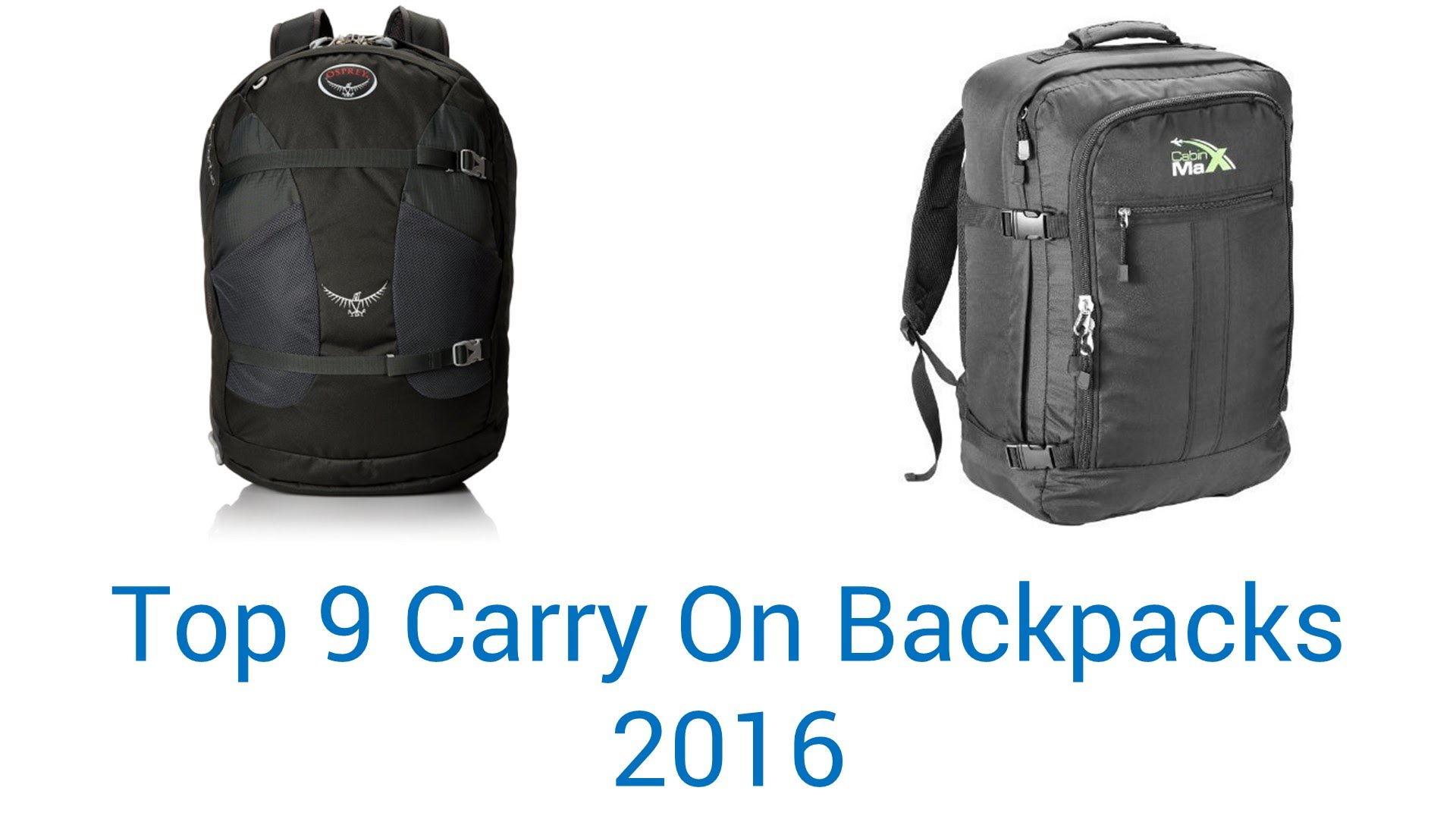 Best Carry On Backpack For Travelling JuSD4xo7