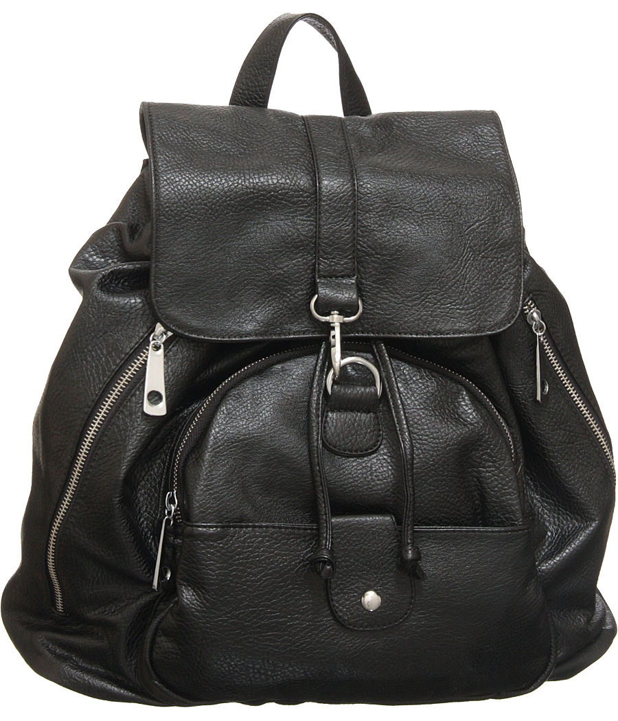 Black Backpack Purse 7AuWv4Go