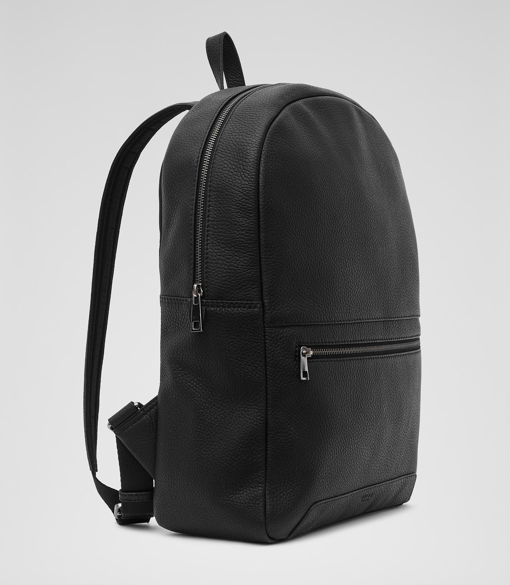 Black Leather Backpack Mens jaBO0L3P