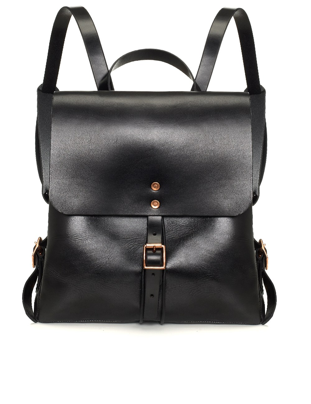 Black Leather Backpack Women OezBvR97