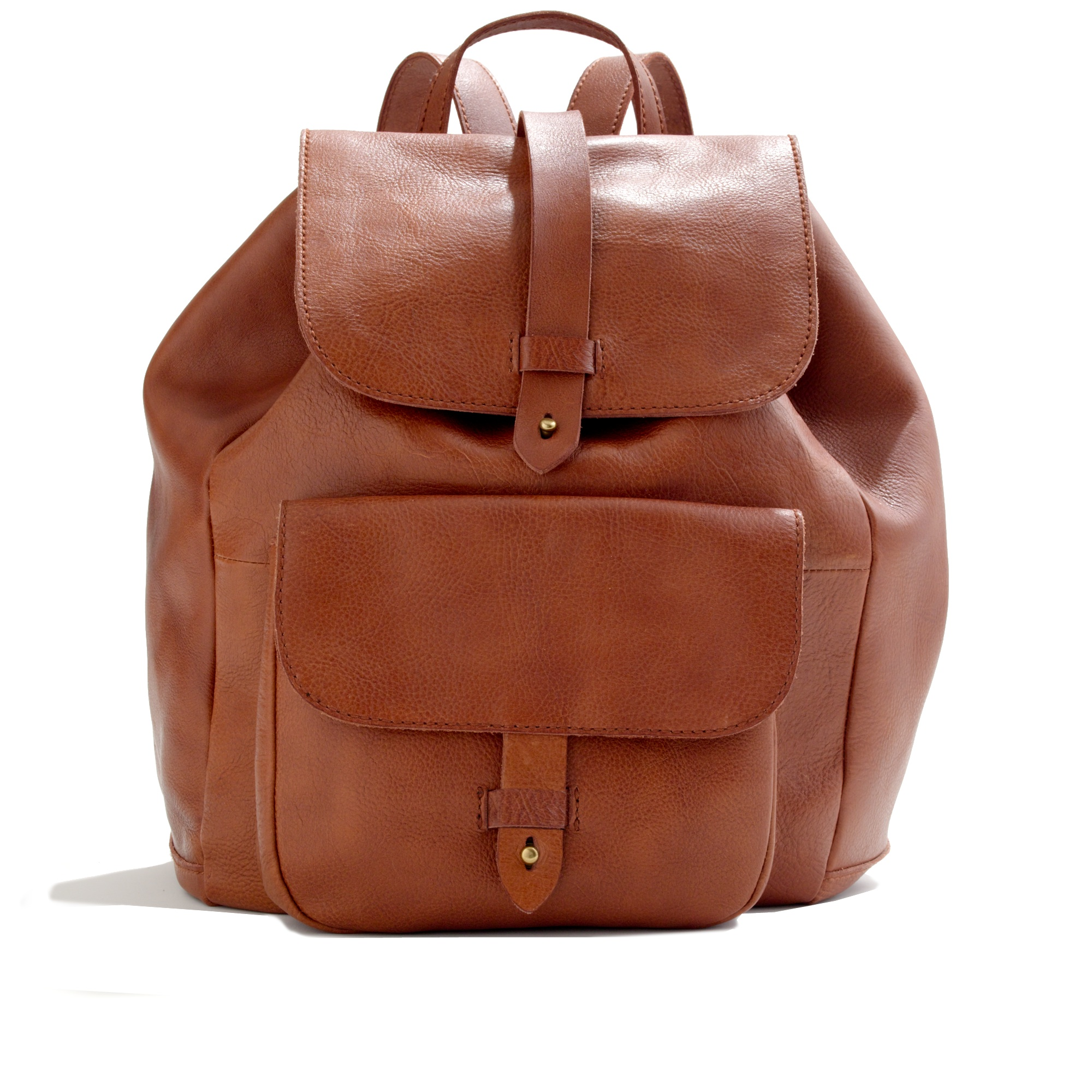 Brown Leather Backpacks VJb3khEN