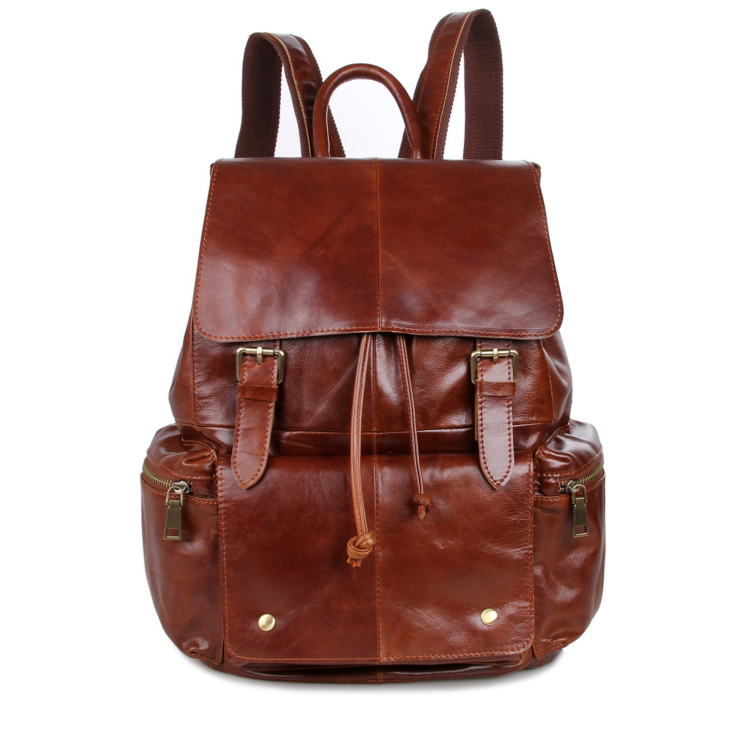 Brown Leather Backpacks wMPUQeGp