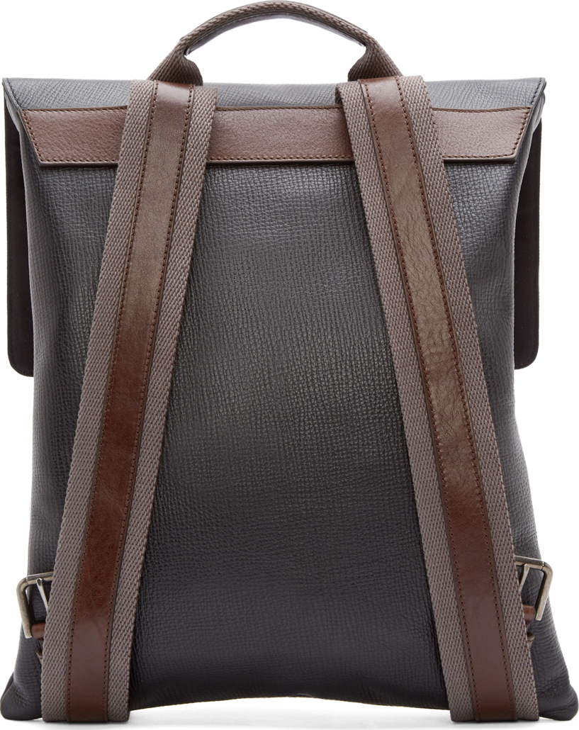 Classy Leather Backpack jBKKR1Cj