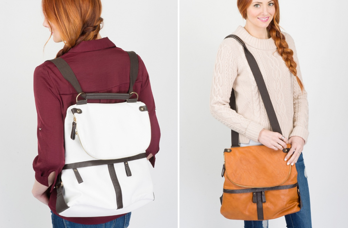 Convertible Backpack Purse AazvnDgL