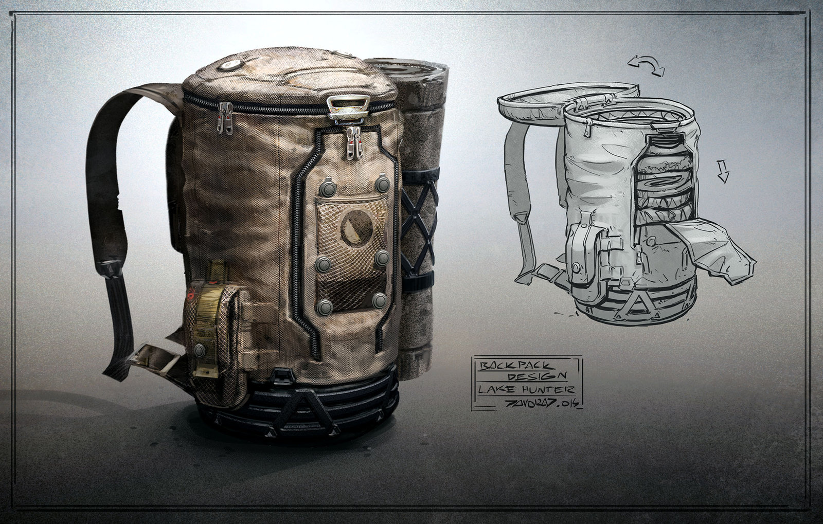 Cool Backpack Designs CupdyChw