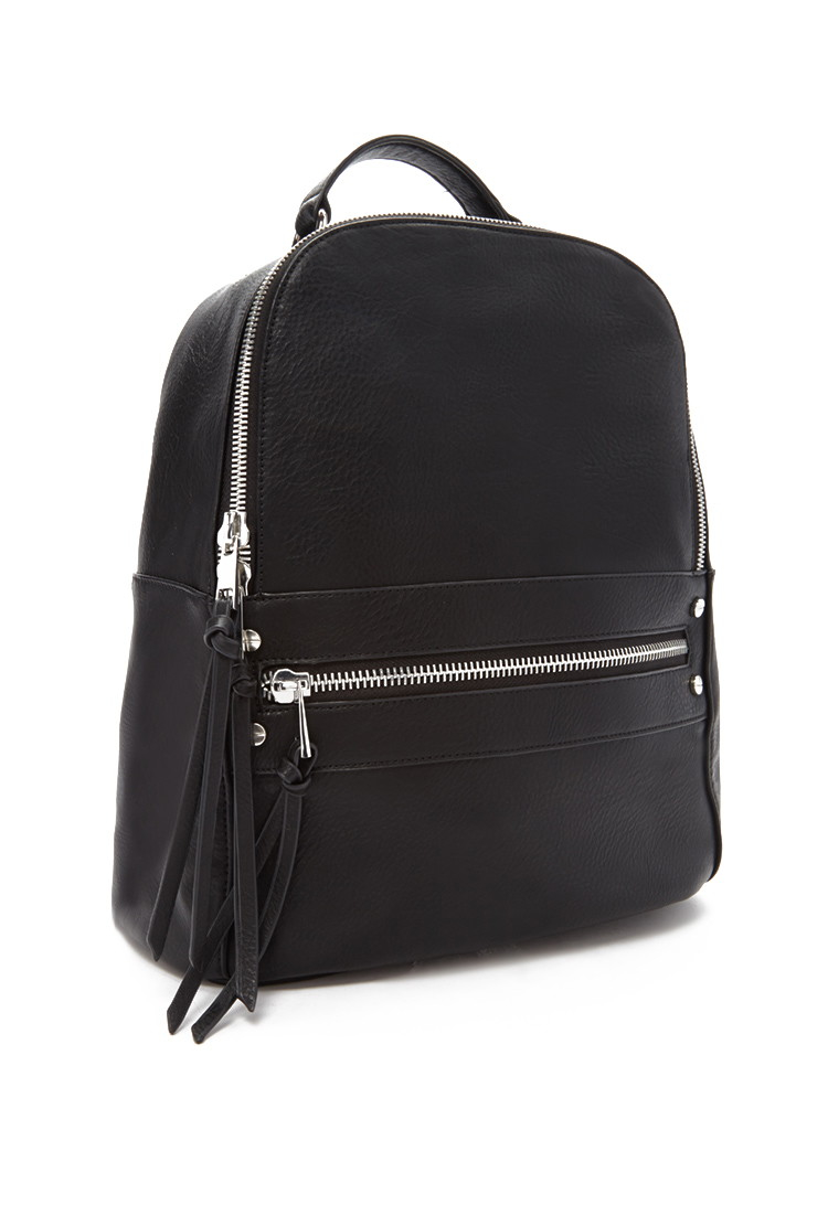 Fake Leather Backpack Eai9CZ0o