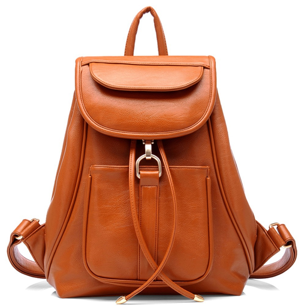 Faux Leather Backpack Purse jyWkMlwK