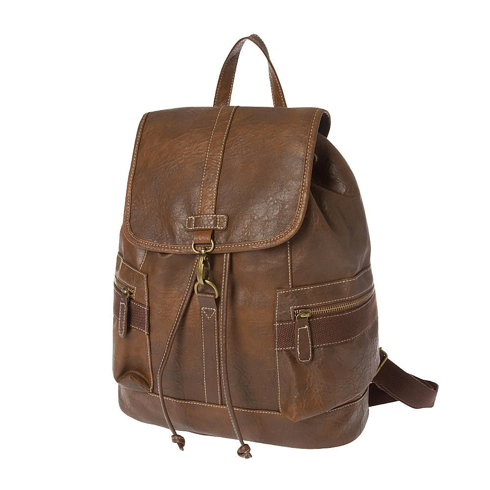 Faux Leather Backpacks Oi8Qi7nI