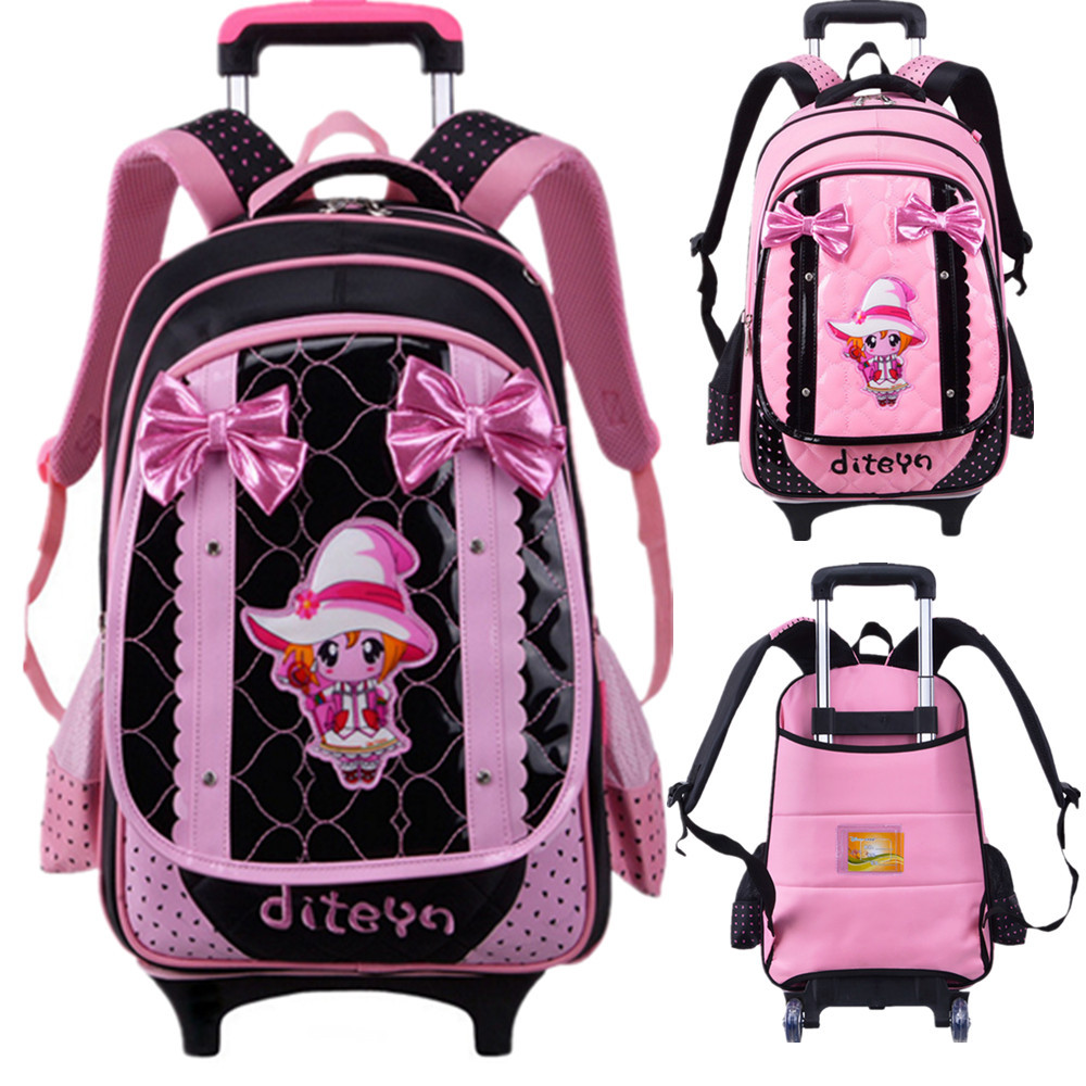 Girls Rolling Backpacks For School cSvWEx2C