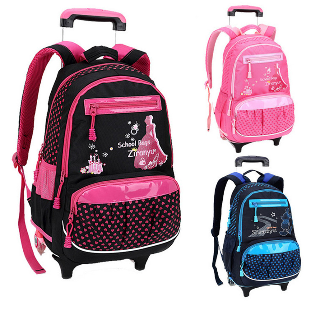 Girls Rolling Backpacks For School 24pBS6YO