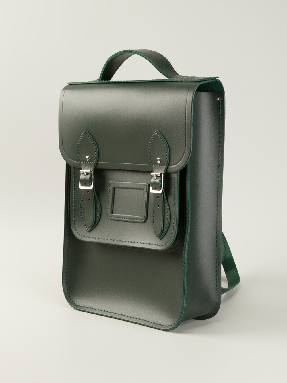 Green Leather Backpack NkROo0Og