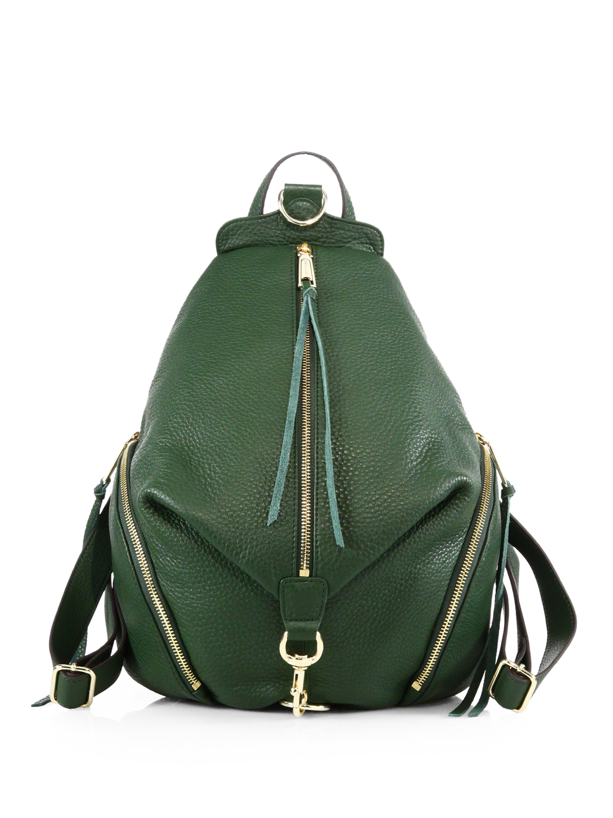 Green Leather Backpack CxI9svJV