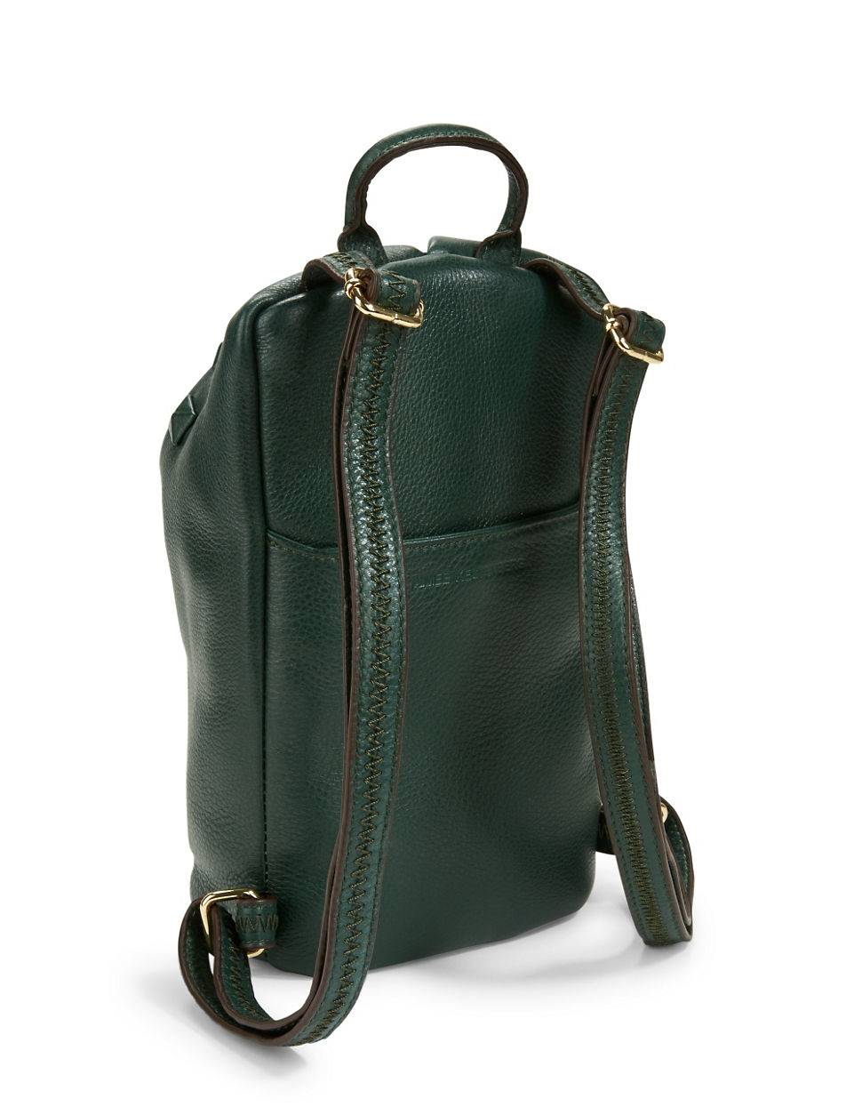 Green Leather Backpack ojtgZpSi