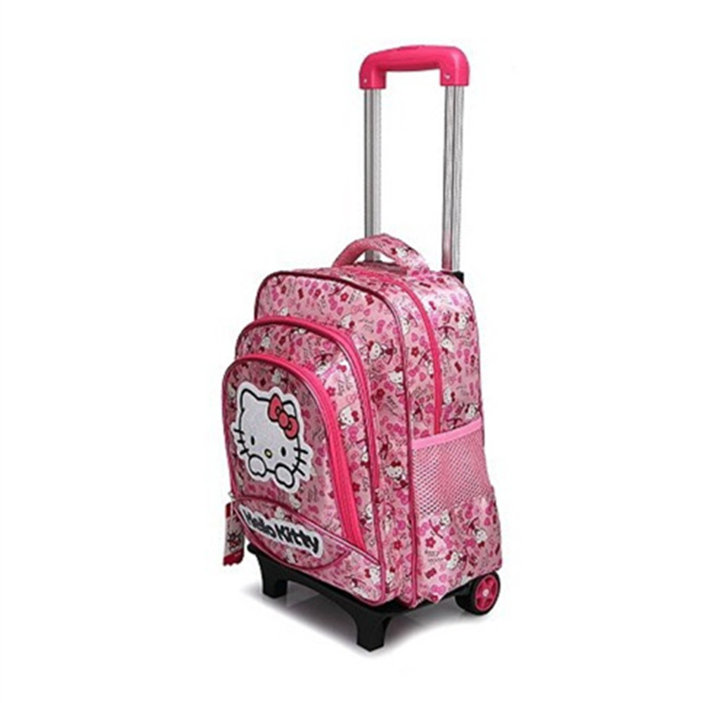 Hello Kitty Rolling Backpack cnzDZTkt
