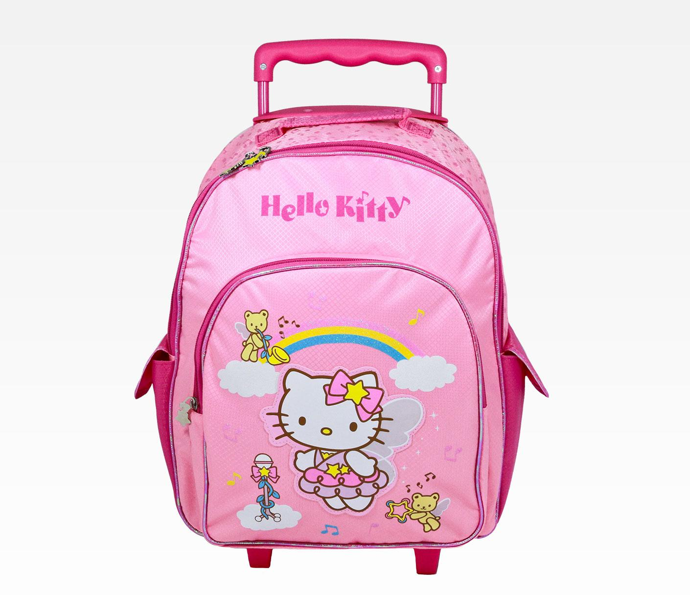 Hello Kitty Rolling Backpack 8UNobTEP