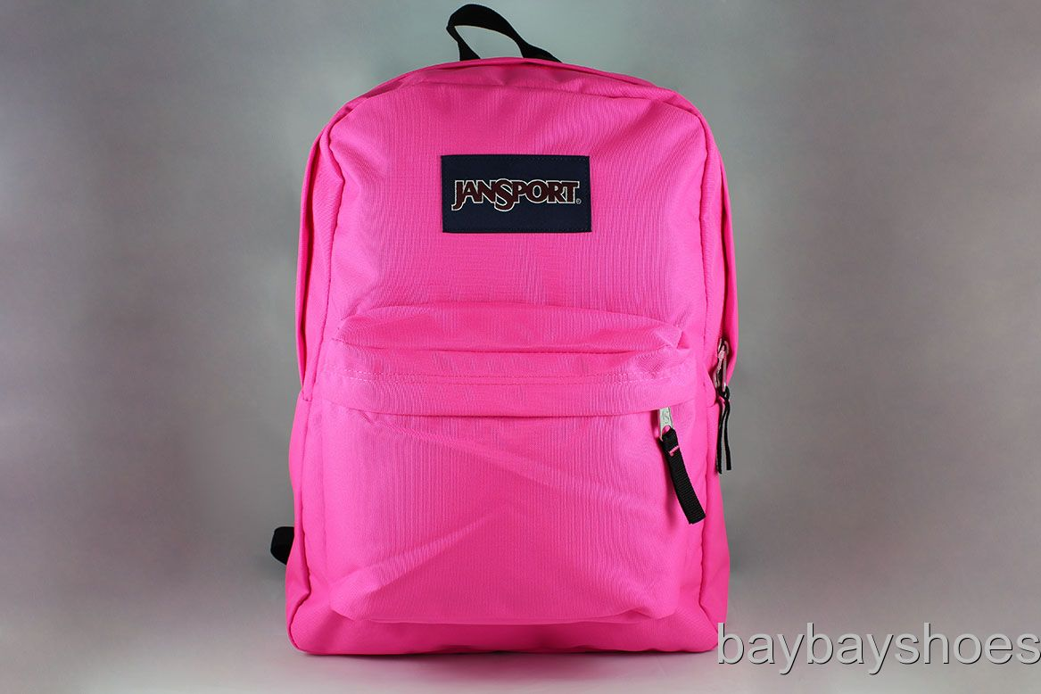 Hot Pink Jansport Backpack Y1JCLj9Z
