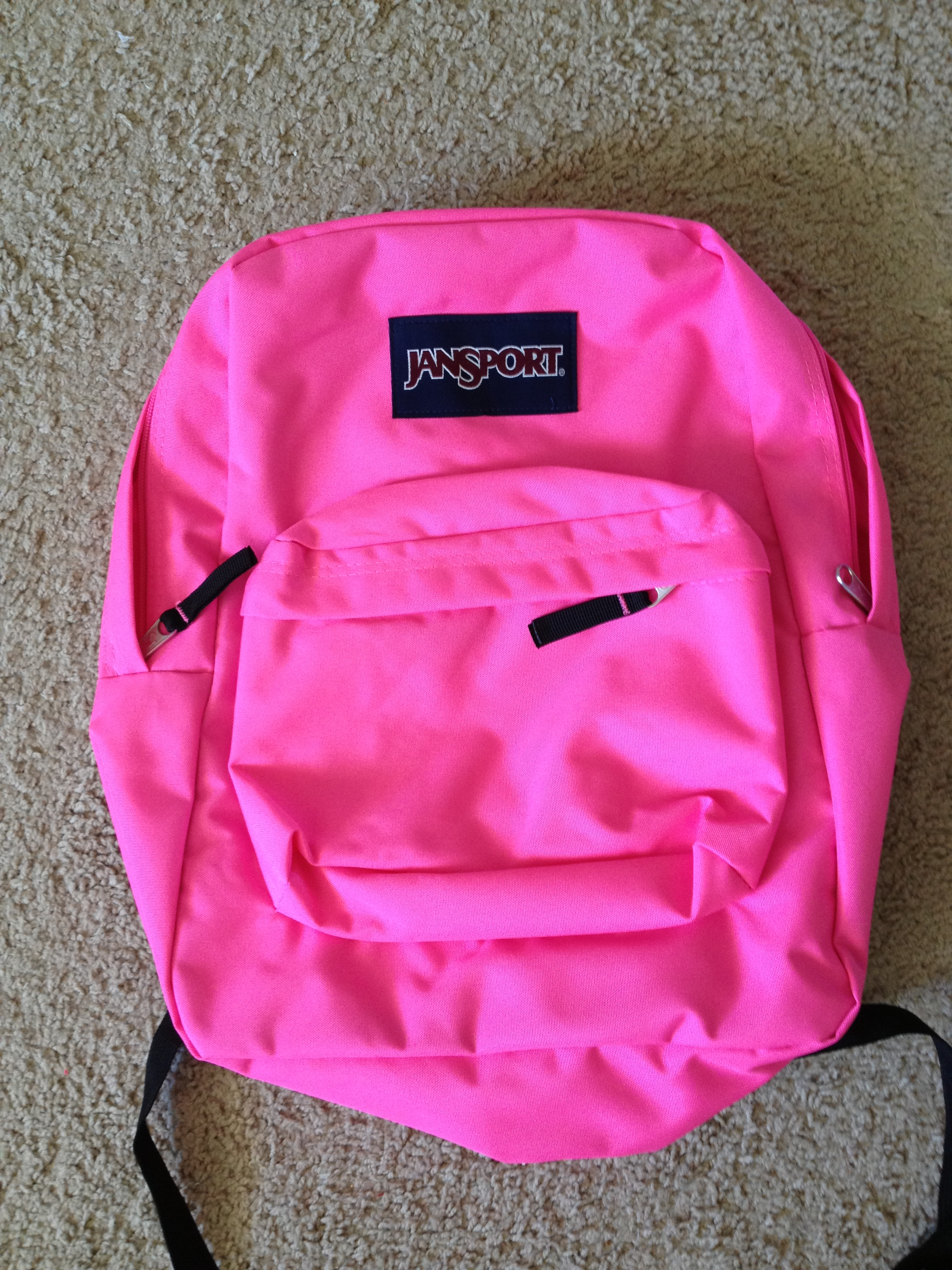 Hot Pink Jansport Backpack lrfhIF7s