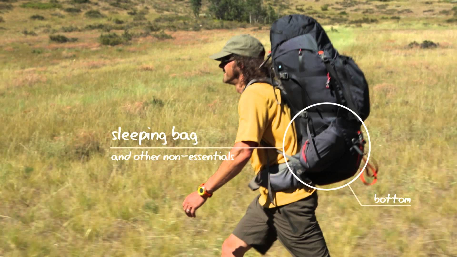 How To Pack A Backpack For Hiking UOuO232n