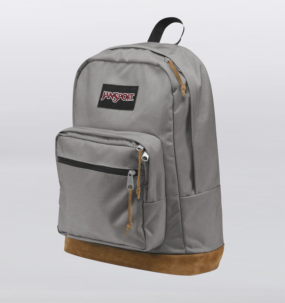 Jansport Gray Backpack QRP9scJD
