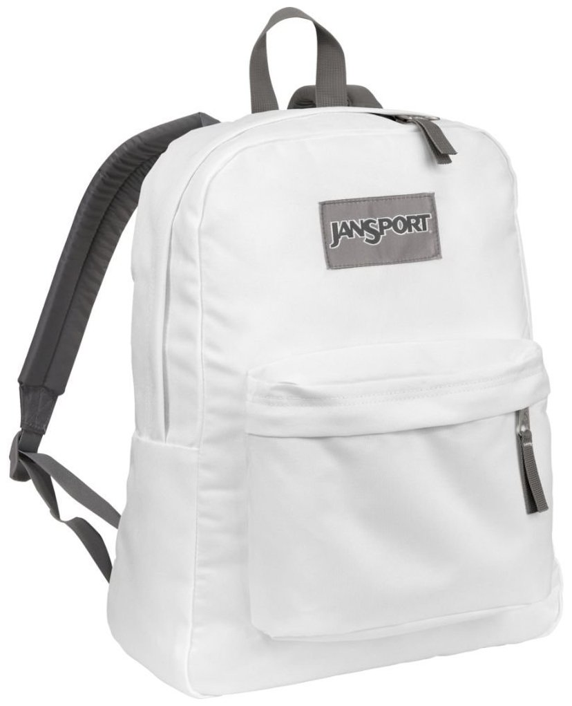 Jansport White Backpack 0IS53P80