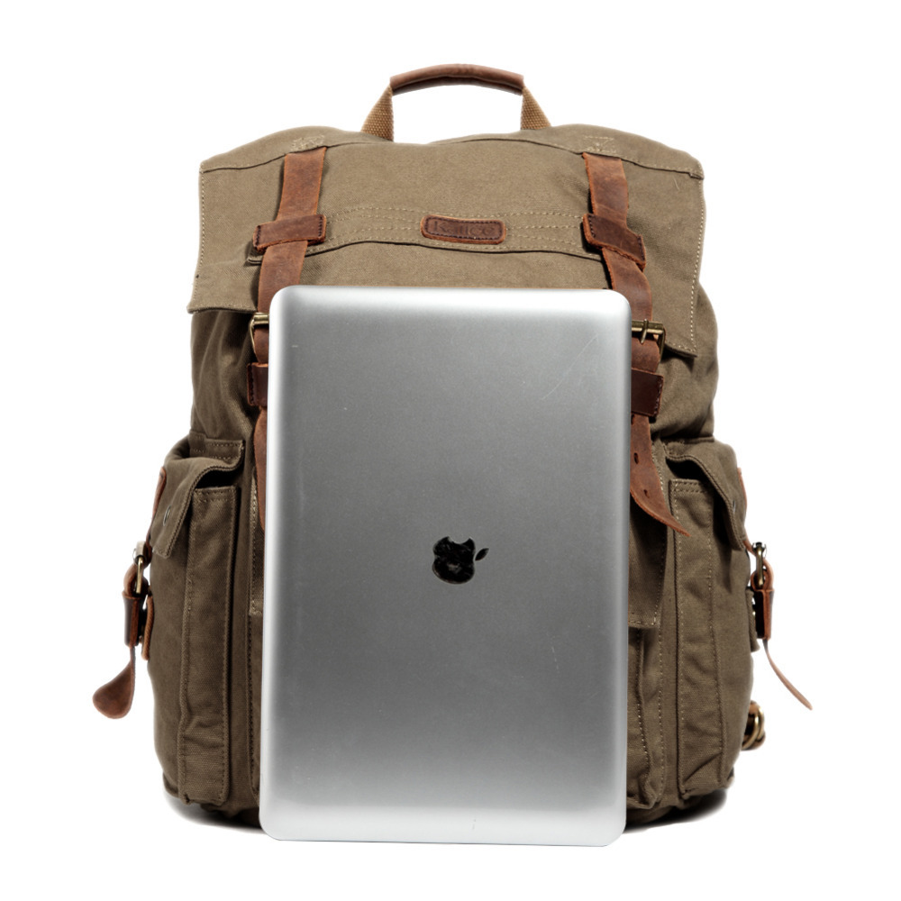 Leather Backpack Laptop 9FXrCK9S