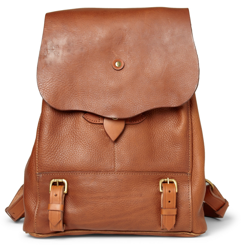 Leather Backpack Pattern Y9caMwMd