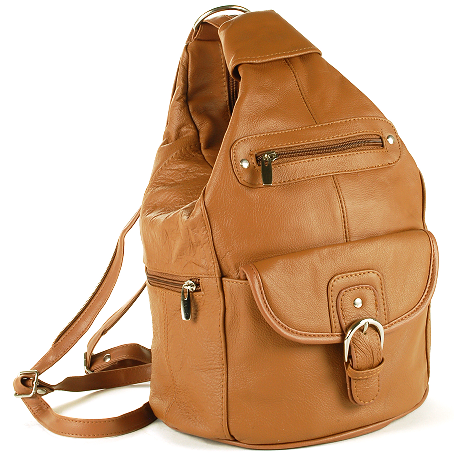 Leather Backpack Purse BONegfxt