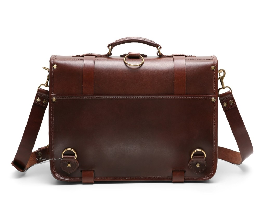 Leather Briefcase Backpack dZ1kdt32