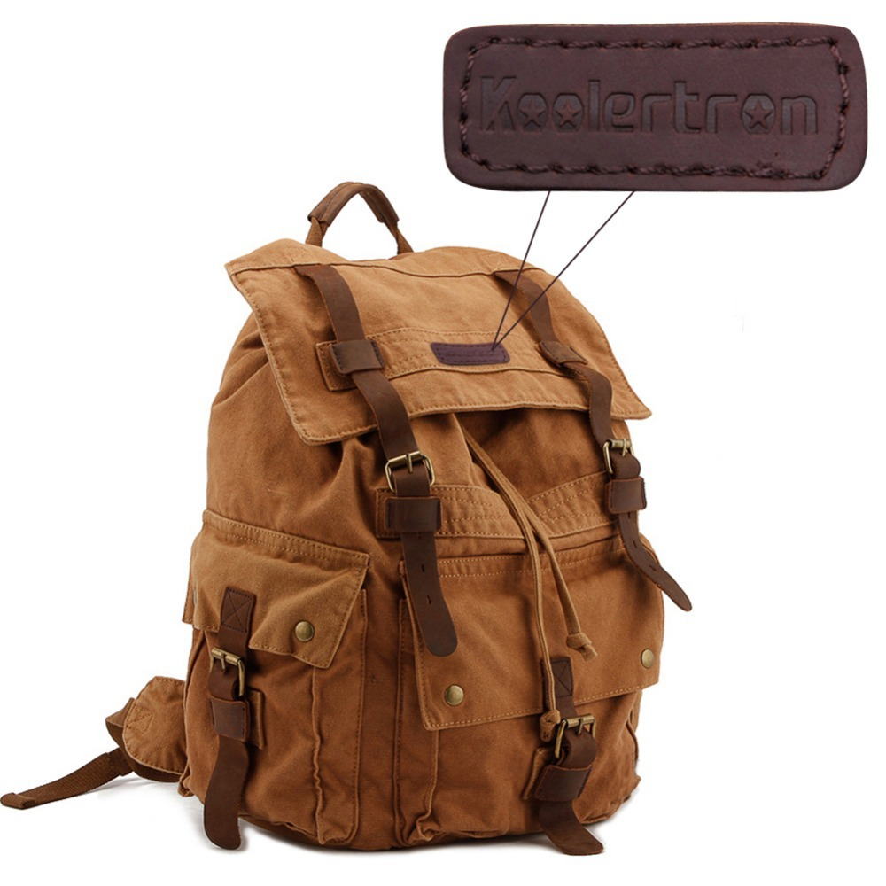 Leather Camera Backpack I9htIcl0