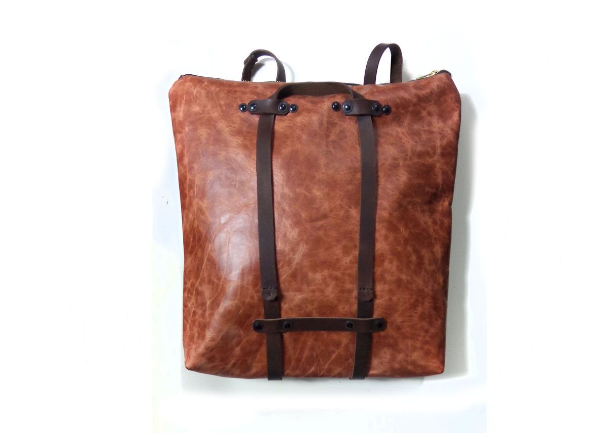 Leather Convertible Backpack VKkZovi7
