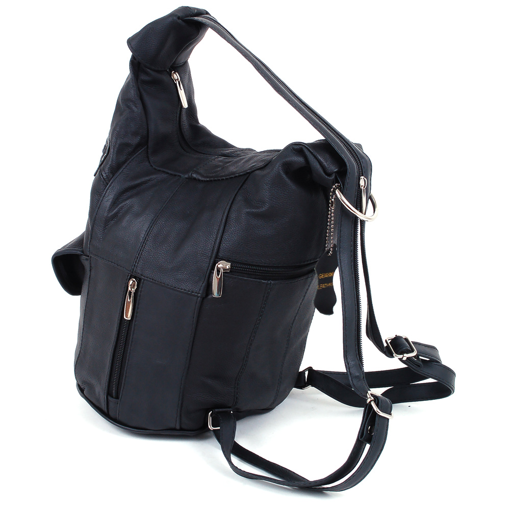 Leather Convertible Backpack GstWKlGl
