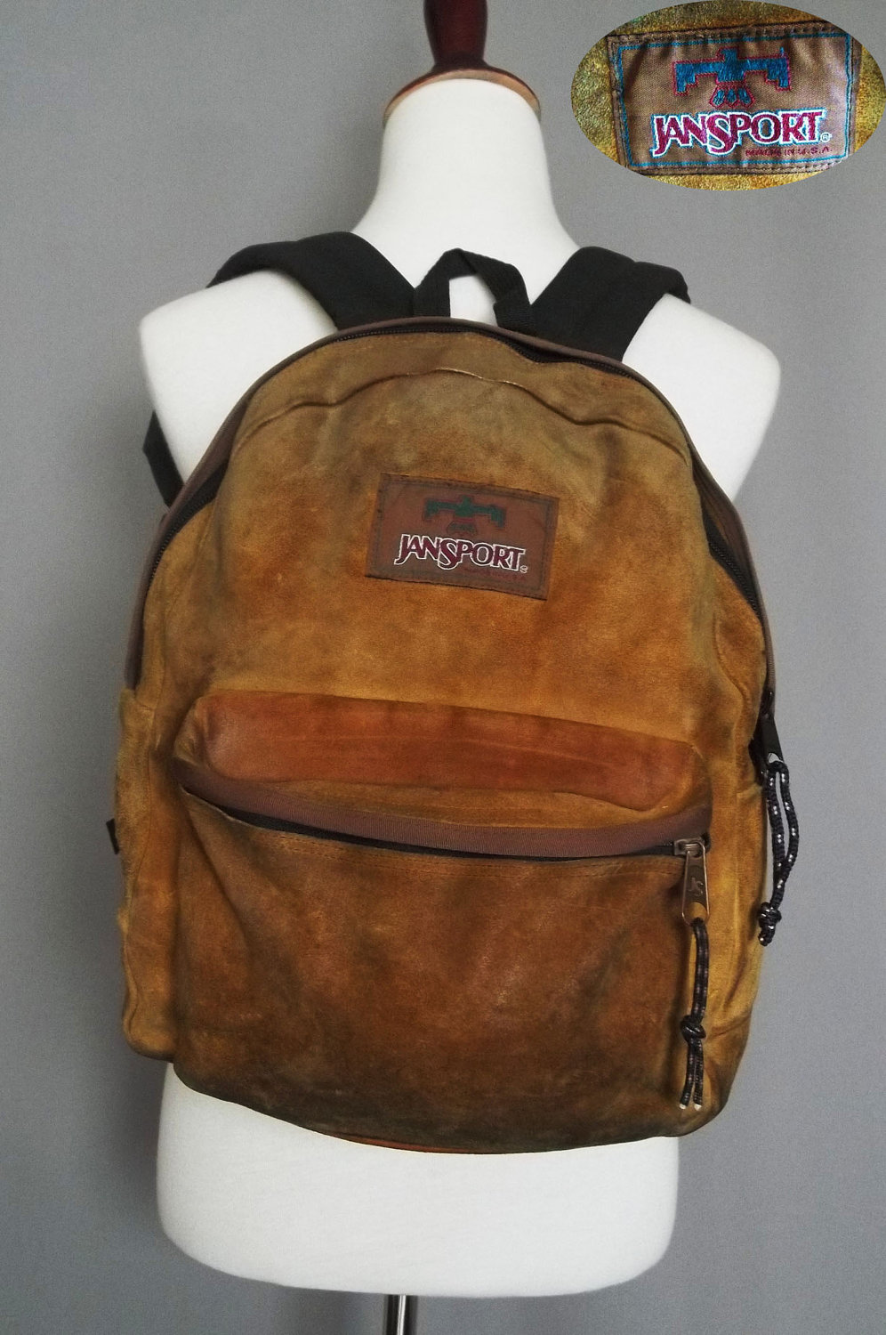 Leather Jansport Backpack m1DmXCoY