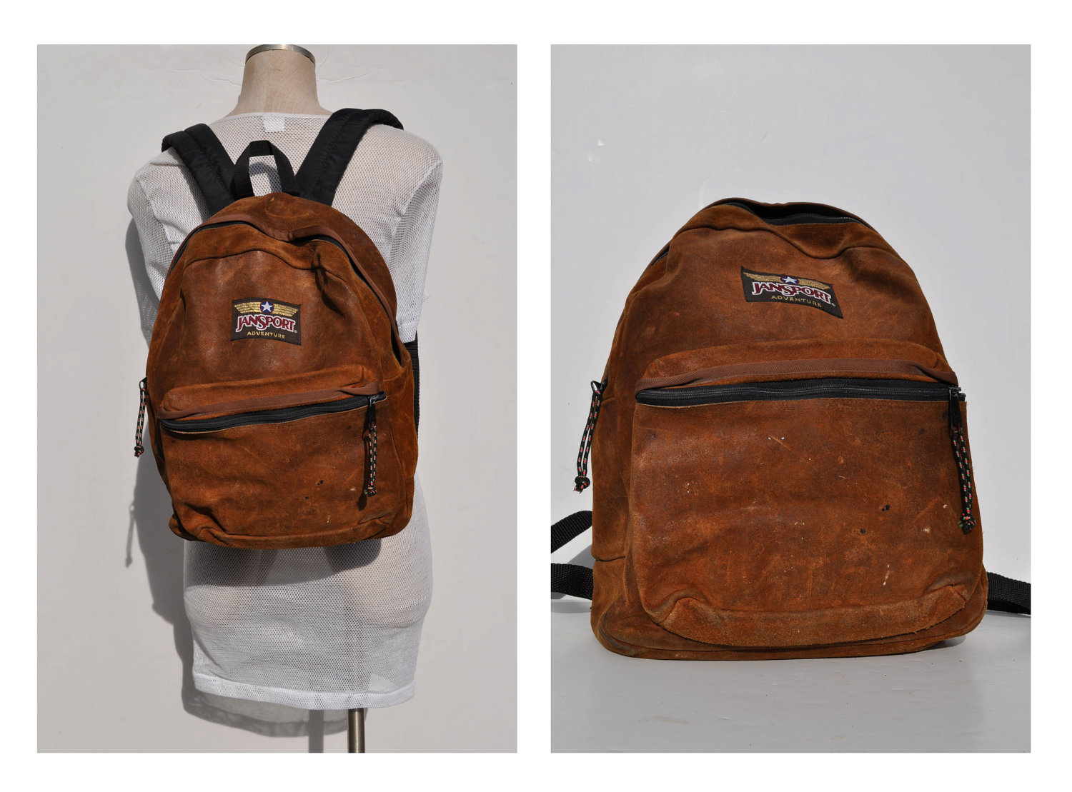 Leather Jansport Backpack RMpV1OqQ