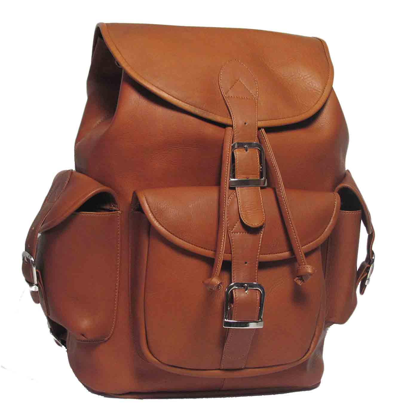 Leather Rucksack Backpack Bla4BeNc