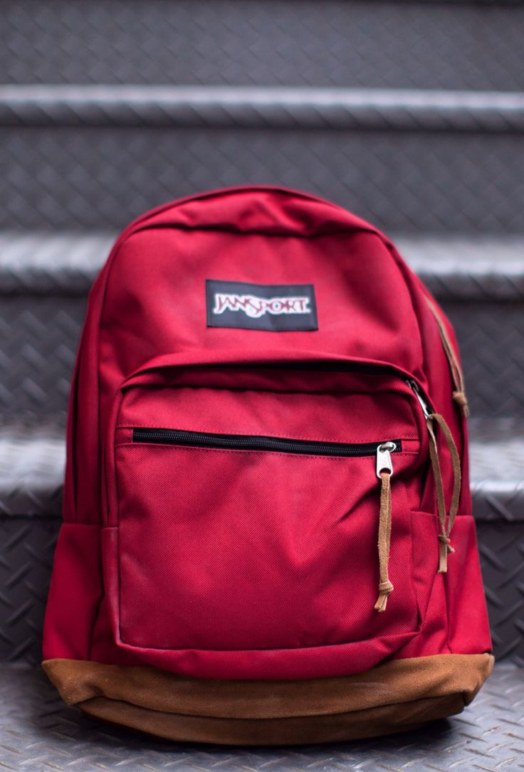 Maroon Jansport Backpack 6097dMPS
