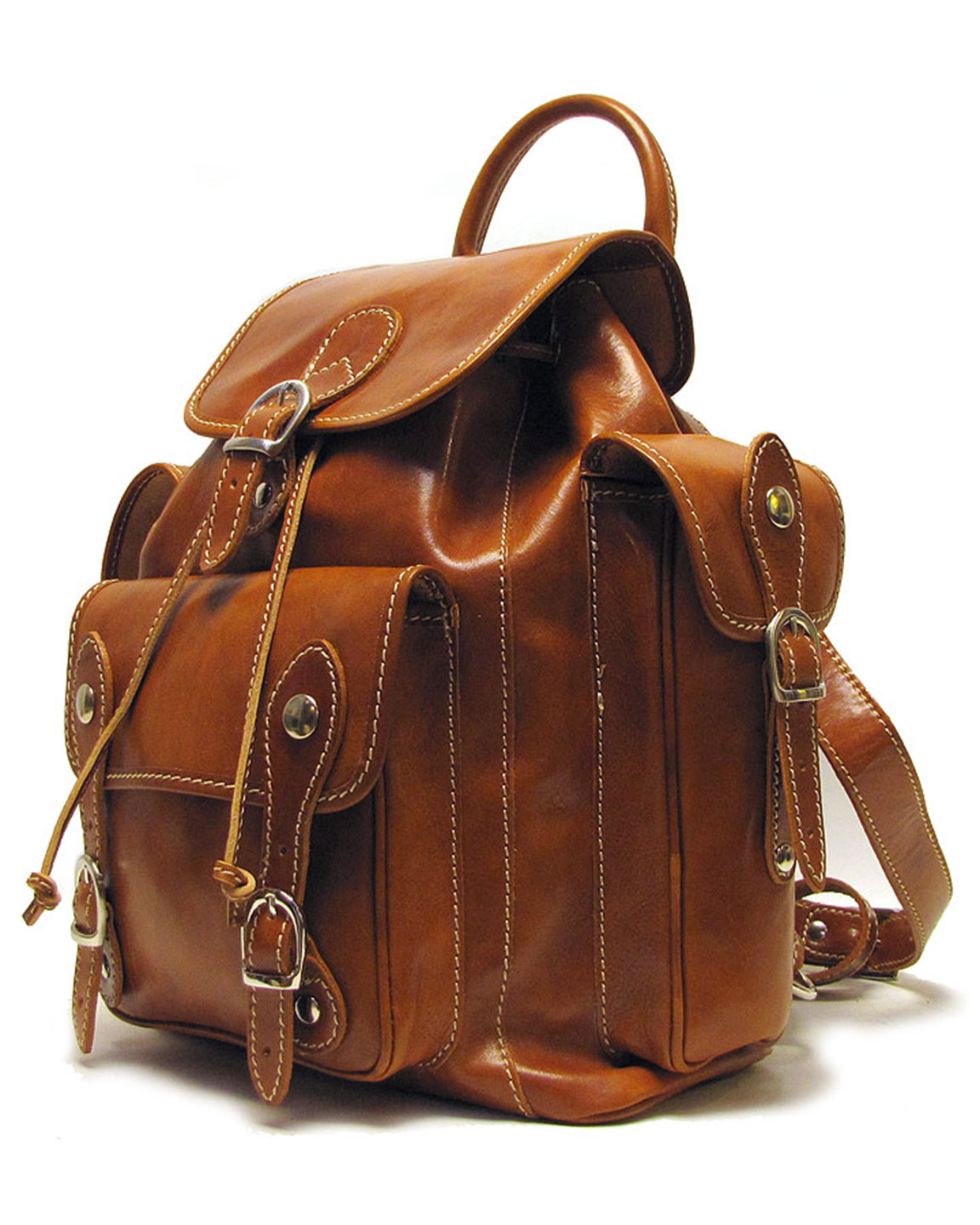 Men Leather Backpacks mqUh97r7
