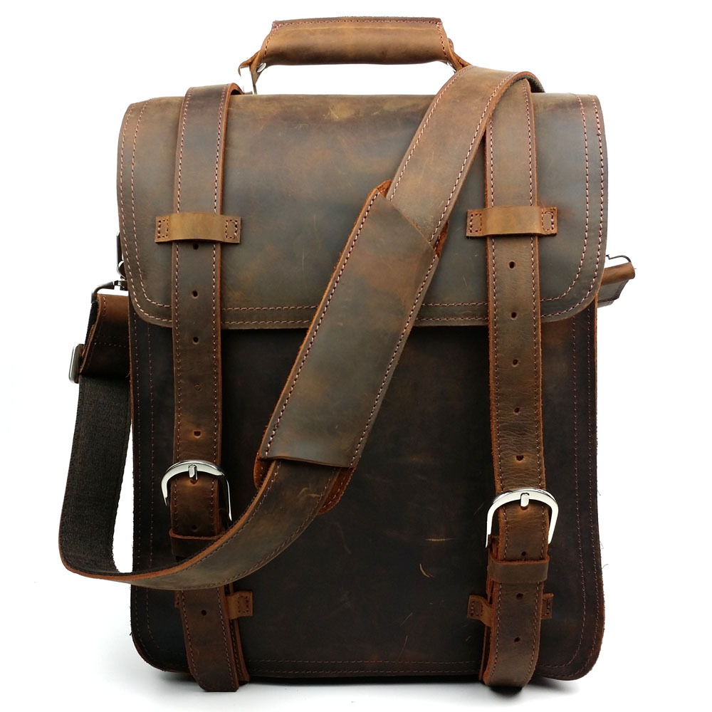 Men Leather Backpacks cFrG7EVB