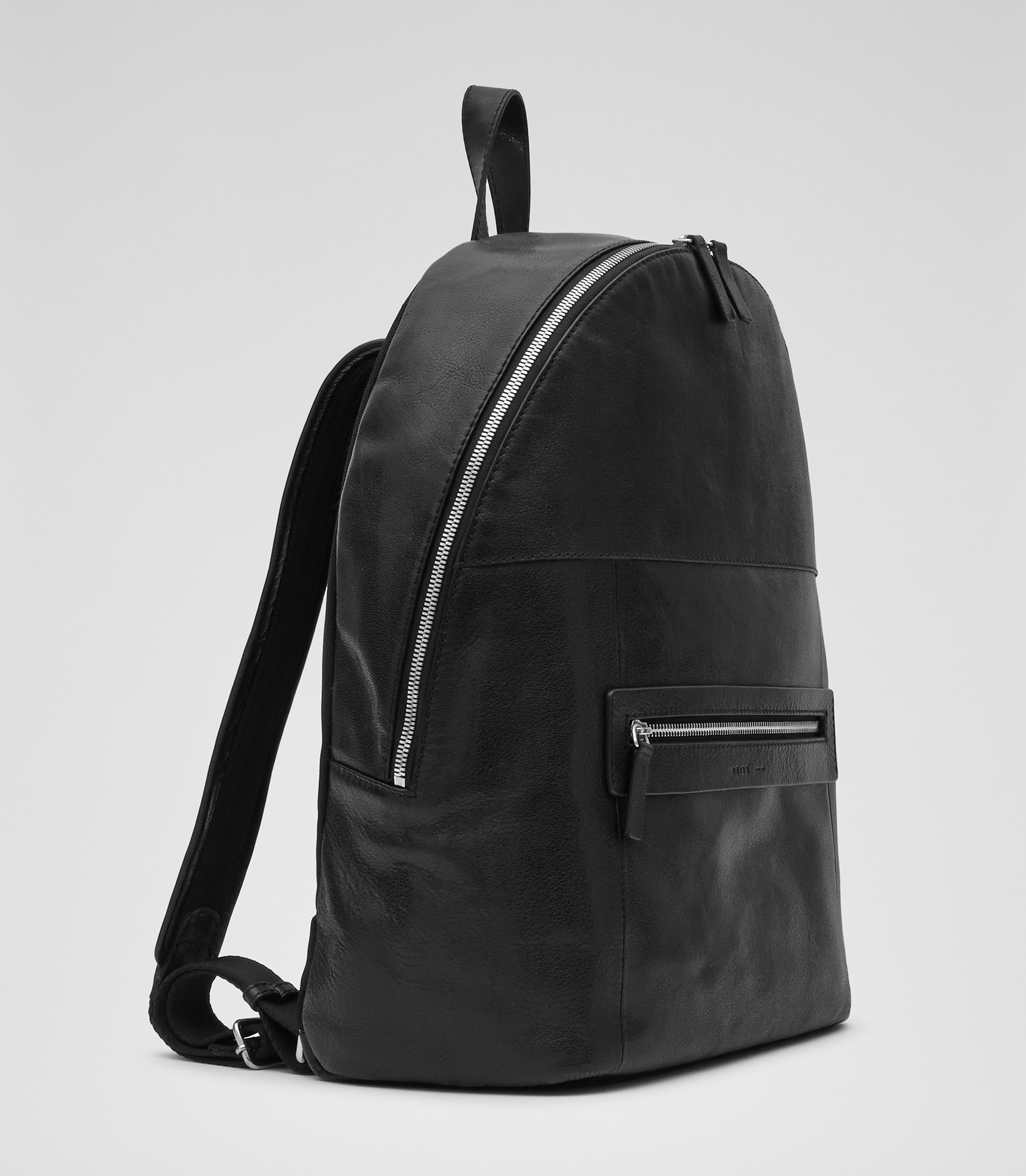 Mens Black Leather Backpack 2I8tVTG3