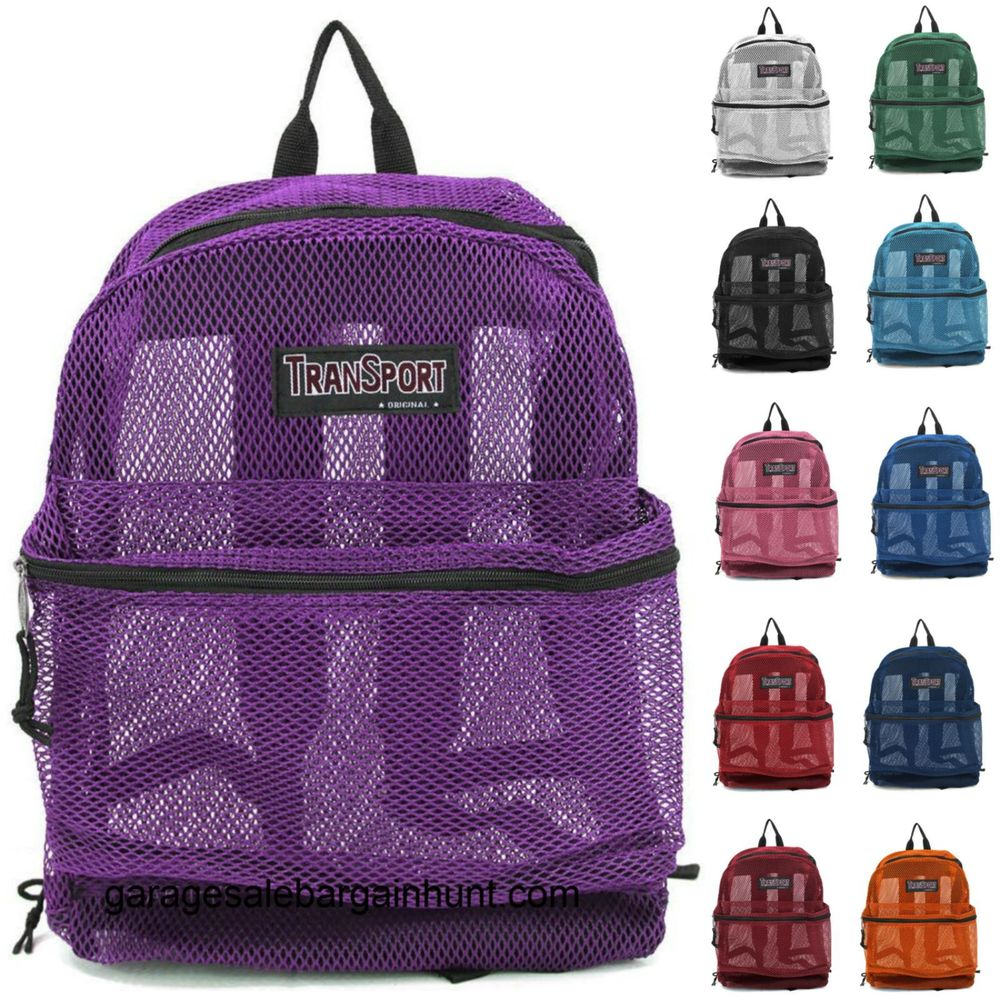 Mesh Backpacks For School t6Xav0bw