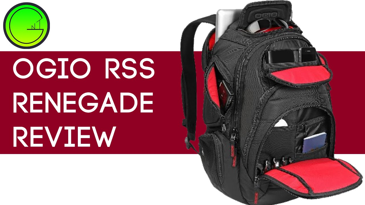 Ogio Renegade Rss 17 Laptop Backpack HRodR48a