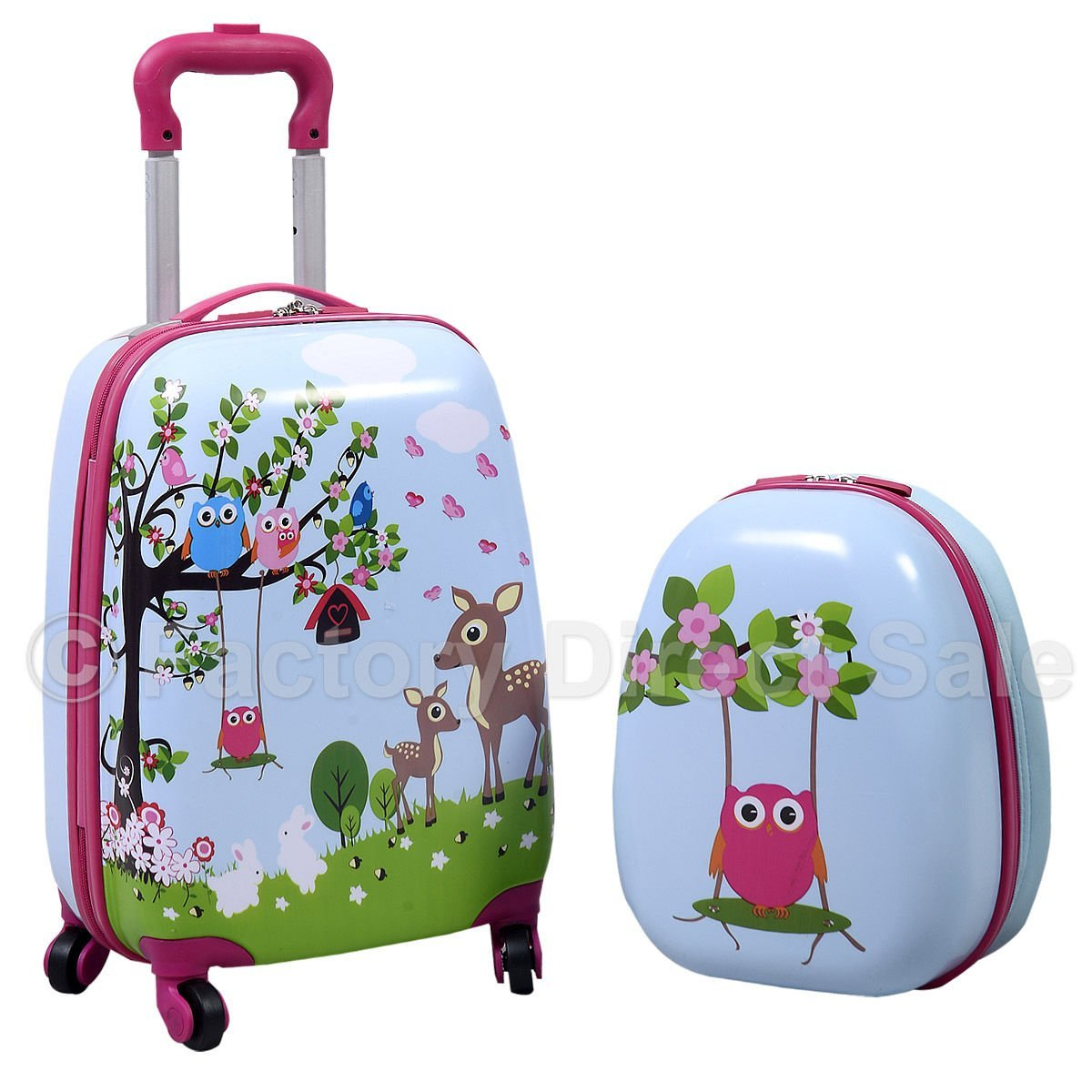 Owl Rolling Backpack YuJy9lBb
