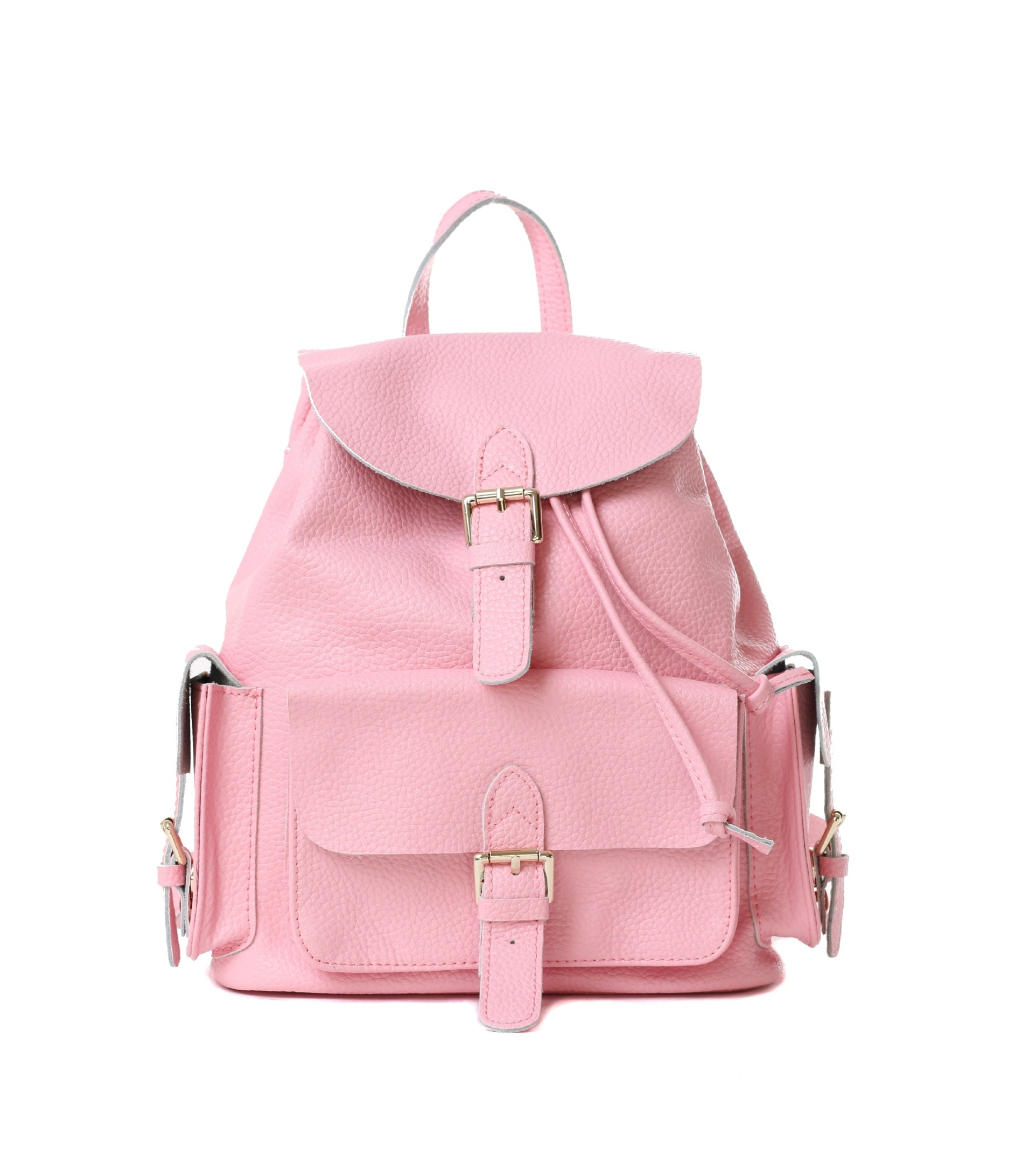 Pink Leather Backpack vqQpNEra