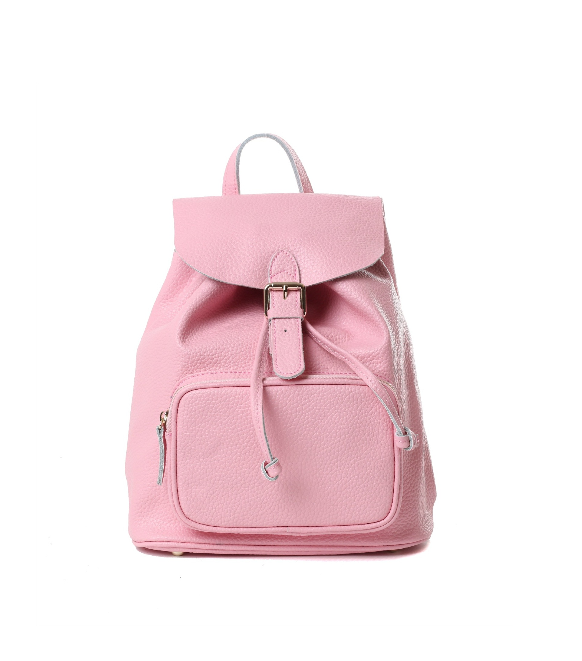 Pink Leather Backpack ZHWhyFeb