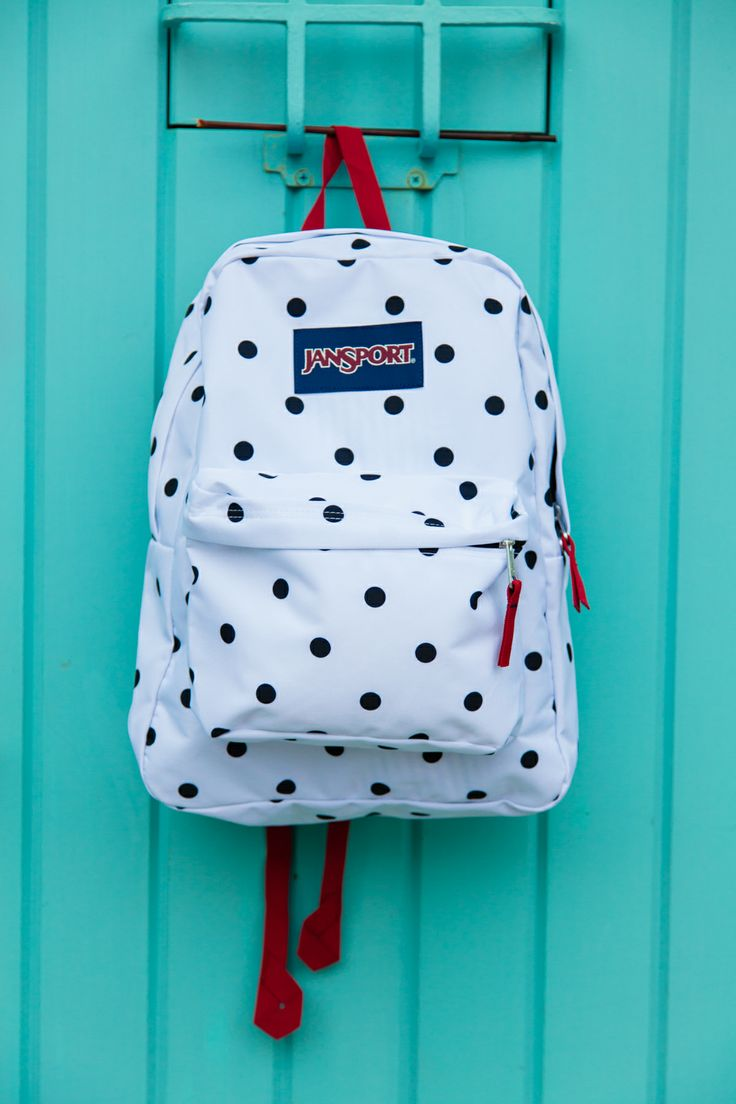 Polka Dot Jansport Backpack a4Qcwpr4