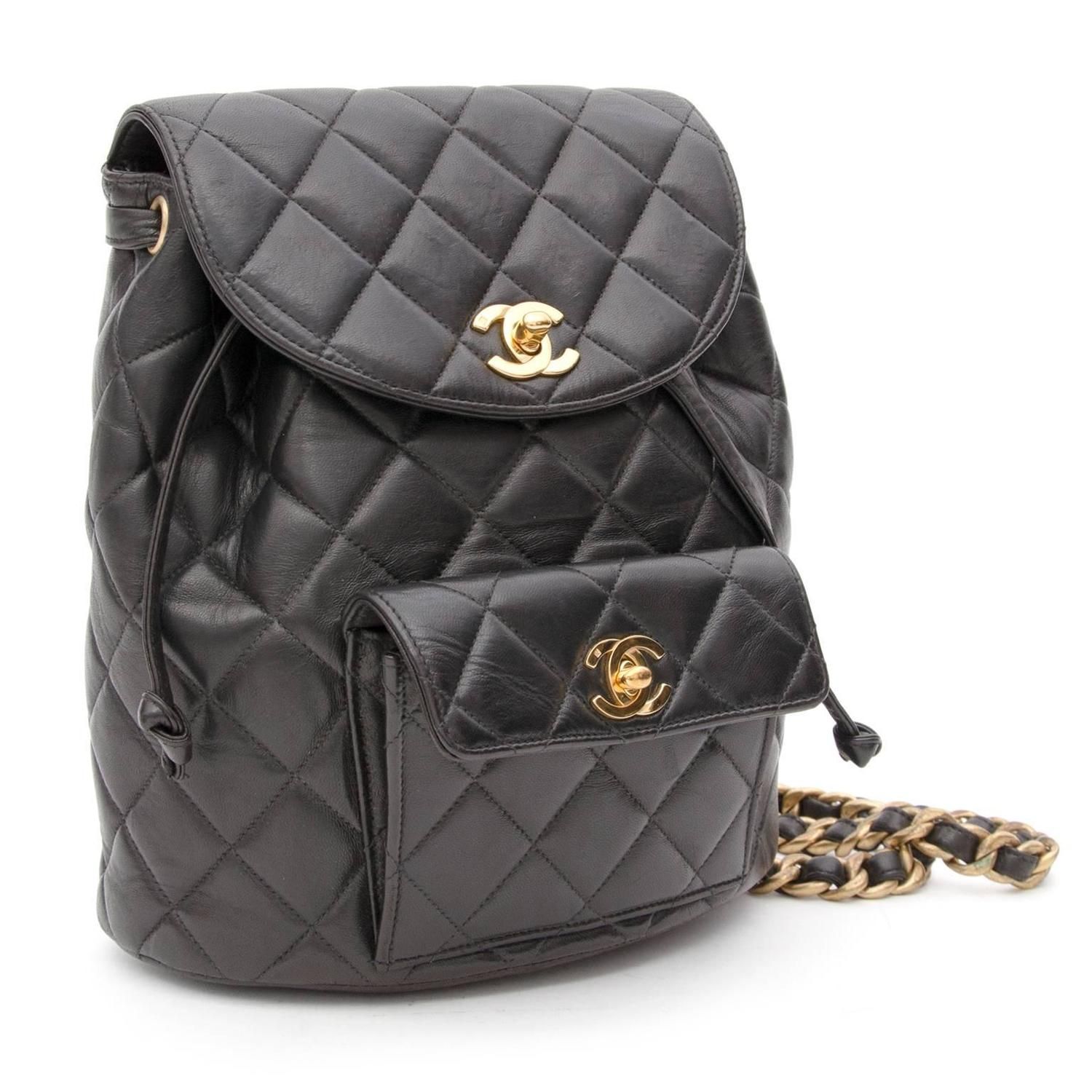 Quilted Leather Backpack I45FamGI