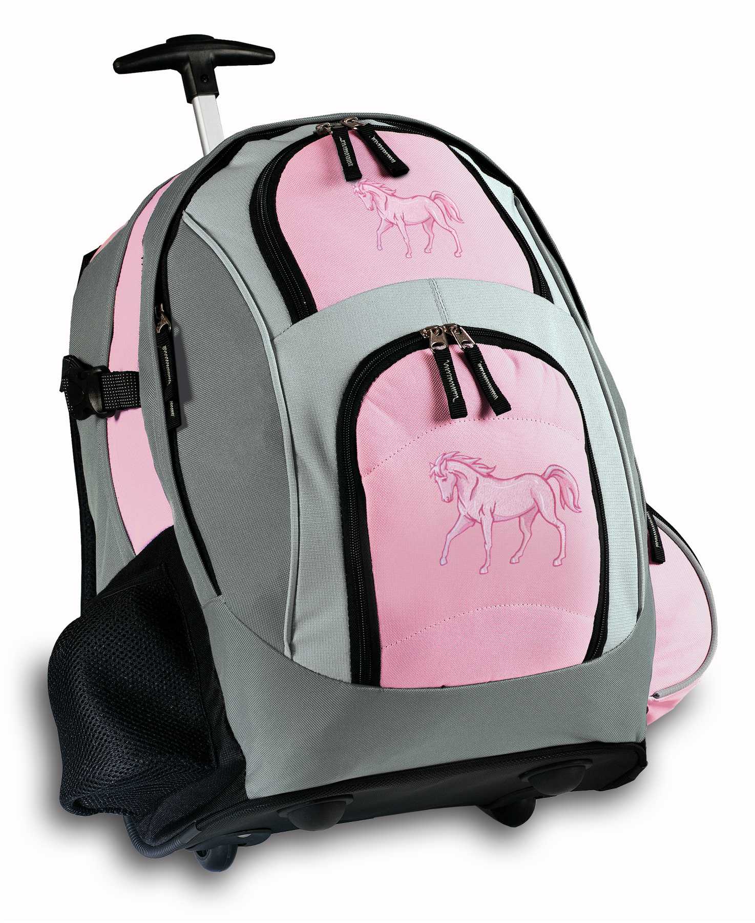 School Backpacks With Wheels Uor54feY Horse Rolling Backpack Cute