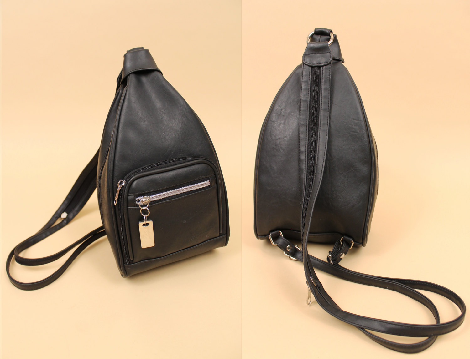 Small Black Backpack Purse iZ1qvx9J