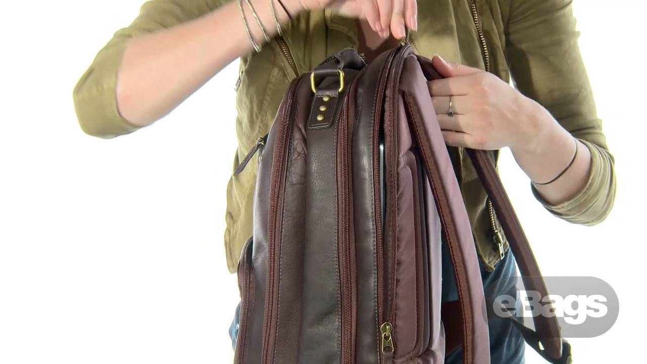 Solo Leather Backpack Wh0ONfqO