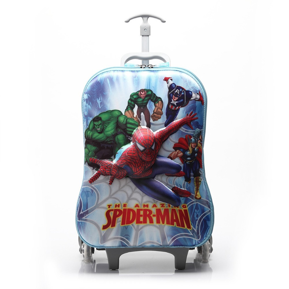 Spiderman Rolling Backpack YSlCBgd8